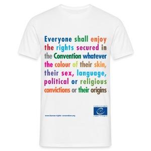 Prohibition of discrimination - Men's T-Shirt