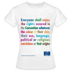 Prohibition of discrimination - Women's T-Shirt