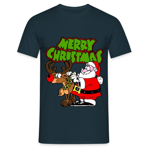 T shirt homme merry christmas - T-shirt Homme