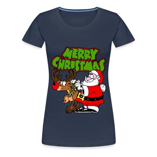 T shirt femme merry christmas - T-shirt Premium Femme
