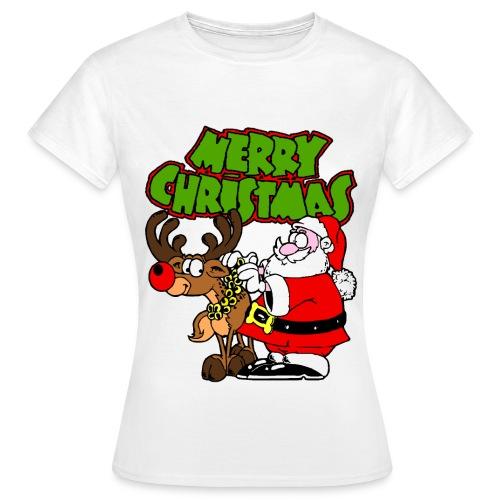 T shirt femme merry christmas - T-shirt Femme