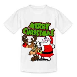 T shirt enfant merry christmas - T-shirt Enfant