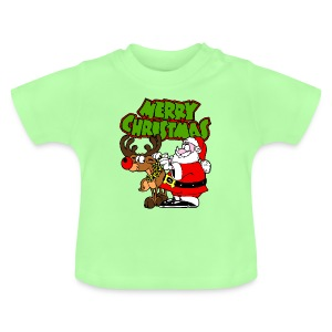 T shirt bébé merry christmas - T-shirt Bébé