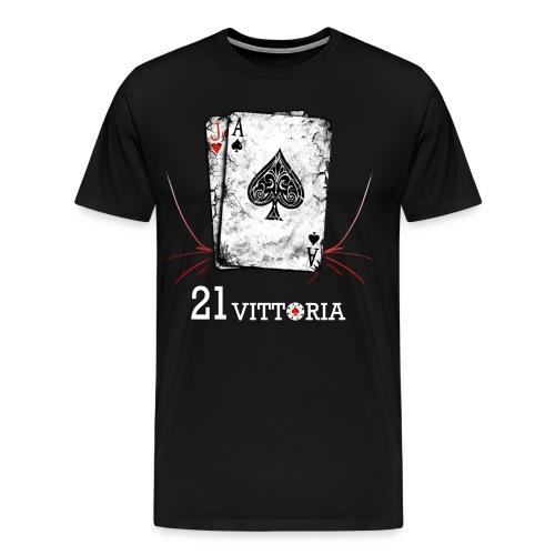 21 Blackjack - Maglietta Premium da uomo