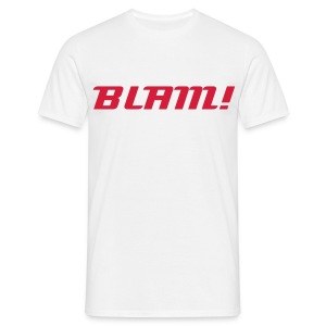 BlAM! t-shirt - Men's T-Shirt