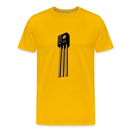 TB-303 acid transistor (mono) - Men's Premium T-Shirt