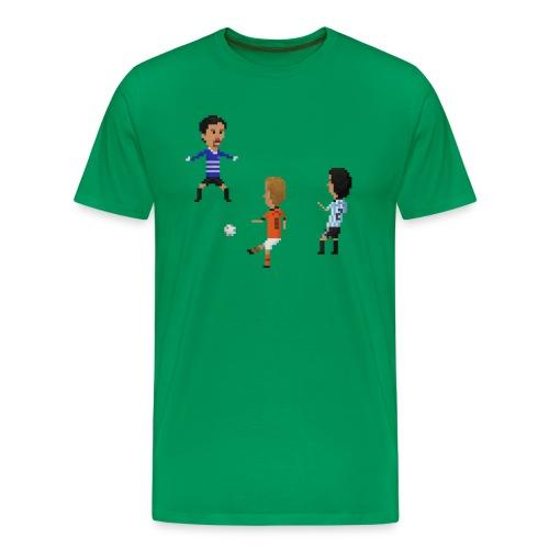 Men T-Shirt - Netherlands vs Argentina 1998 - Men's Premium T-Shirt