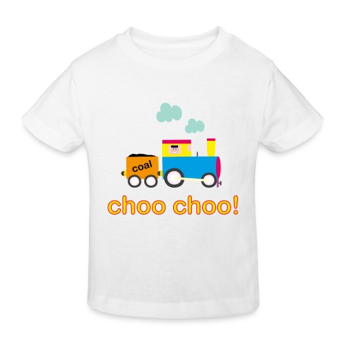 Choo Choo Train Kid's Organic T-shirt - Kids' Organic T-Shirt