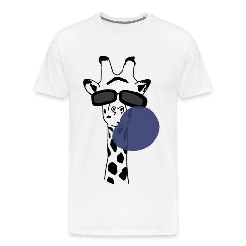 Giraffa da spiaggia- Beach Giraff - Maglietta Premium da uomo