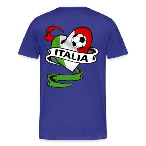 italia sport football - Men's Premium T-Shirt