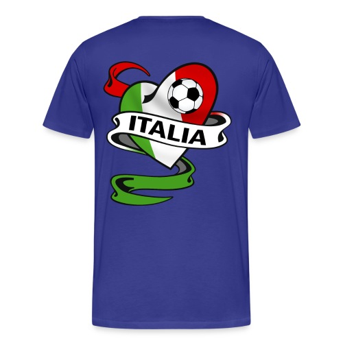 italia sport football - Men's Premium T-Shirt