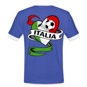 italia sport football - Men's Ringer Shirt