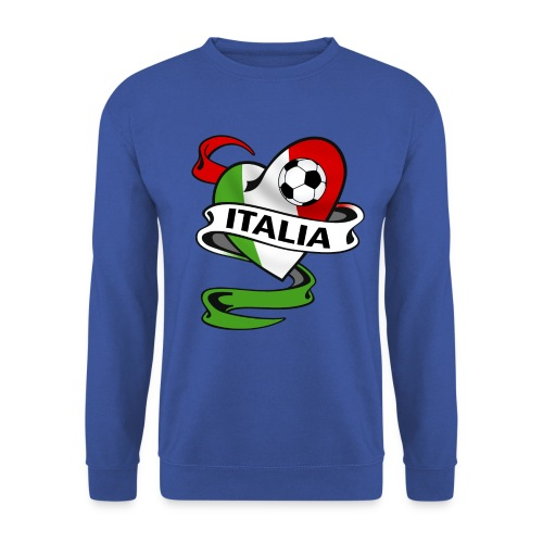 italia sport football - Men's Sweatshirt