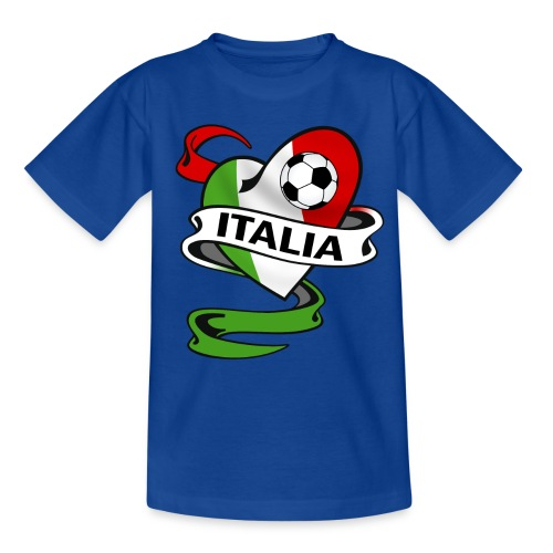 italia sport football - Kids' T-Shirt
