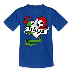 italia sport football - Teenage T-shirt