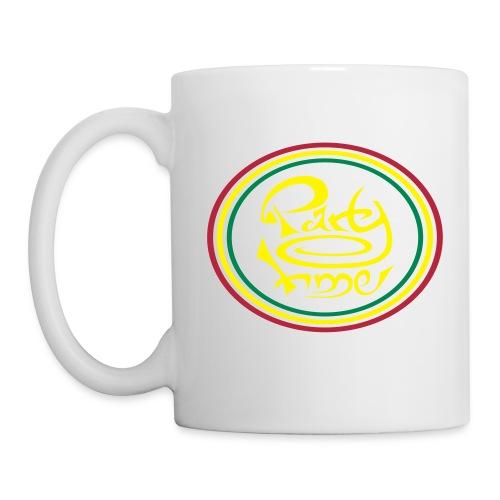 Mug Ring Yellow - Mug blanc