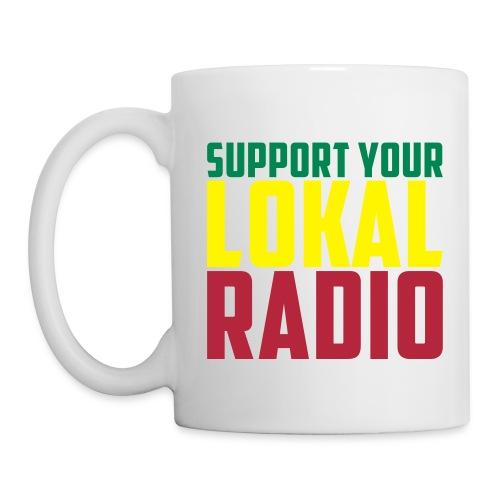 Mug Support Your Lokal Radio - Mug blanc
