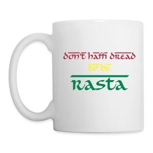 Mug Don't Haffi Dread - Mug blanc