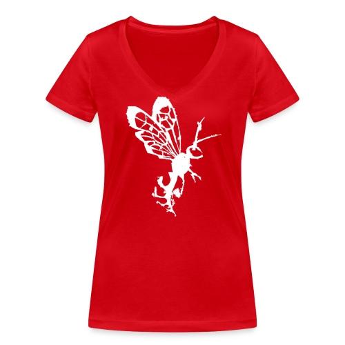 Wasp - T-shirt bio col V Stanley & Stella Femme