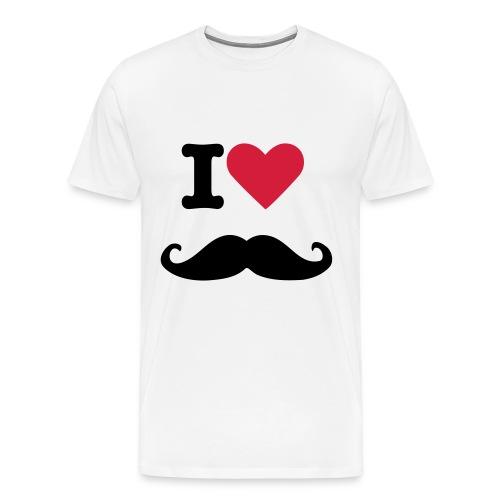 moustache - T-shirt Premium Homme