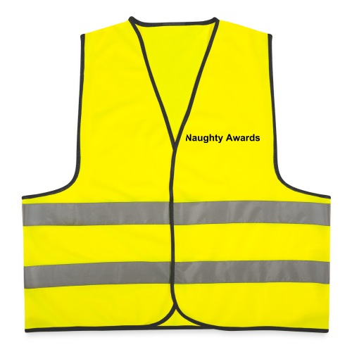 Naughty Awards' Crew Members Vest - Reflective Vest