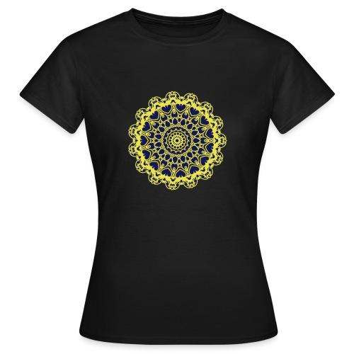 Frauen T-Shirt - Vorderseite: Flexdruck 2-farbig  -  Rückseite: Flexdruck 2-farbig   -   http://atropin.ch