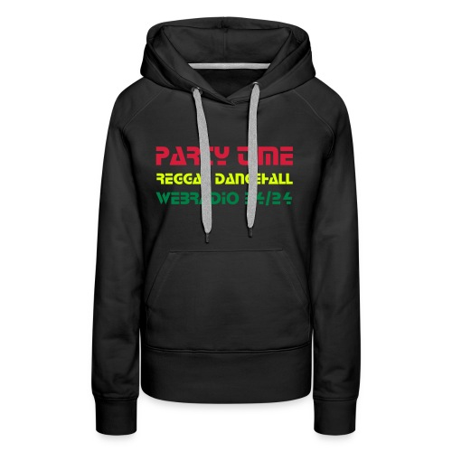 Sweat Capuche Women RedGoldGreen - Sweat-shirt à capuche Premium pour femmes