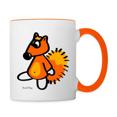 Mug Coloré Pour Droitier - Mug contrasté