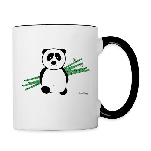 Mug Coloré Lolly le Panda Pour Droitier - Mug contrasté