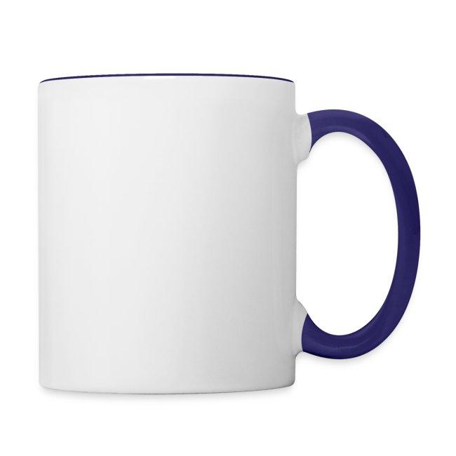 Mug Coloré Zibi le Dino Pour Gaucher