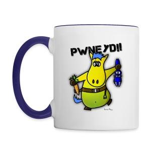 Mug Coloré Sheshamba le Poney Pour Gaucher - Mug contrasté