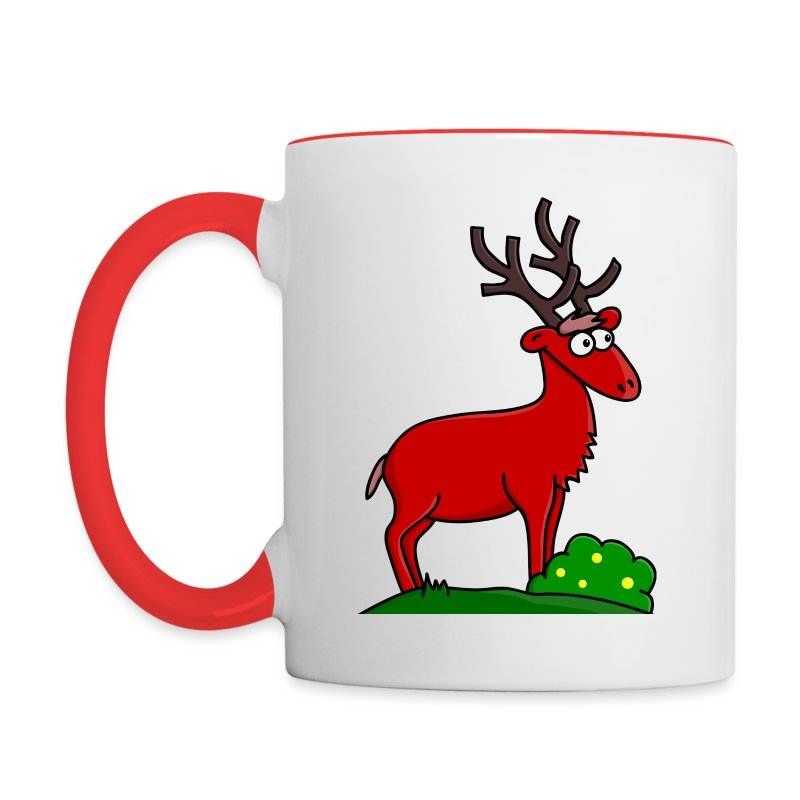 Mug Coloré Takki le Cerf Pour Gaucher - Tasse bicolore