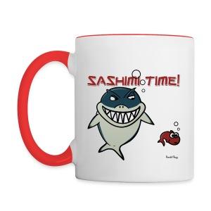 Mug Coloré Nado le Requin Pour Gaucher - Mug contrasté