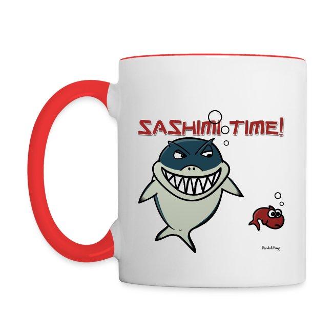 Mug Coloré Nado le Requin Pour Gaucher
