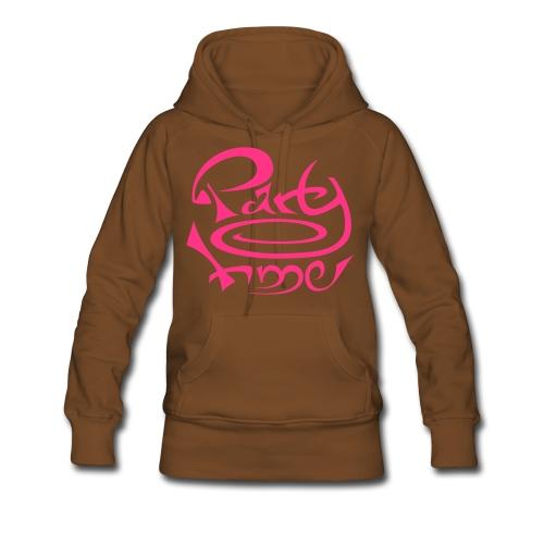 Sweat Capuche Women Original One Pink - Sweat-shirt à capuche Premium pour femmes