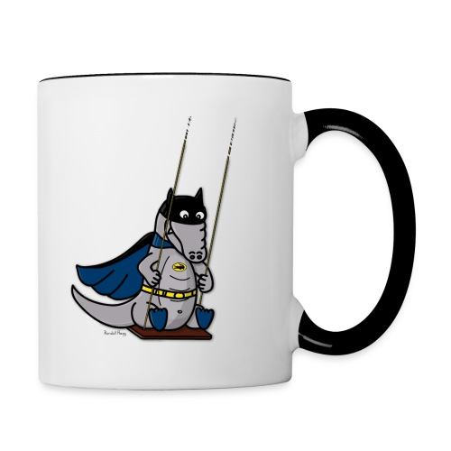 Mug Coloré BatCroc Pour Droitier - Mug contrasté