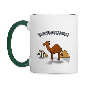 Mug Coloré Joe le Dromadaire Pour Gaucher - Mug contrasté