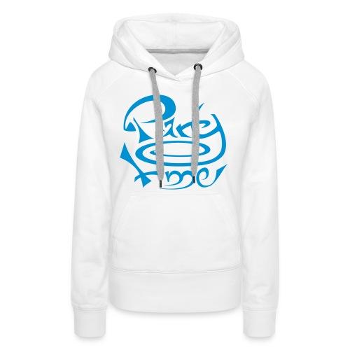 Sweat Capuche Women Original One Blue - Sweat-shirt à capuche Premium pour femmes