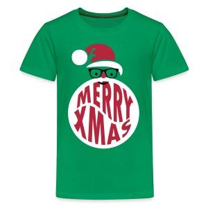 Santa Nerd - Teenager Premium T-Shirt