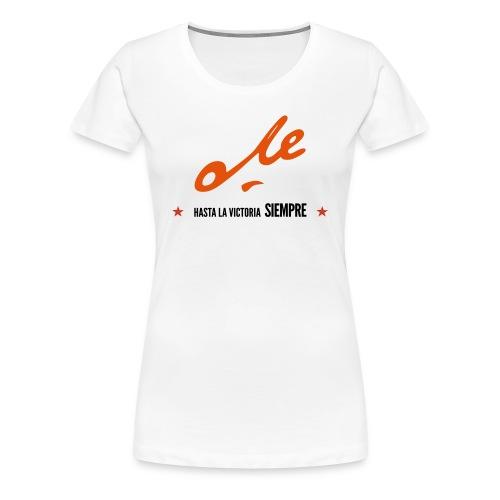 Che Girl1 - Camiseta premium mujer