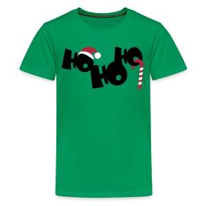 HO HO HO - Teenager Premium T-Shirt