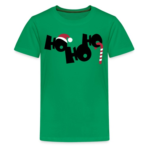 HO HO HO - Teenager Premium T-Shirt