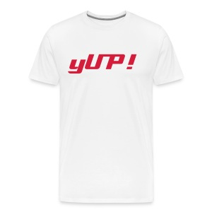 yUP! t-shirt - Men's Premium T-Shirt