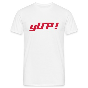 yUP! t-shirt - Men's T-Shirt