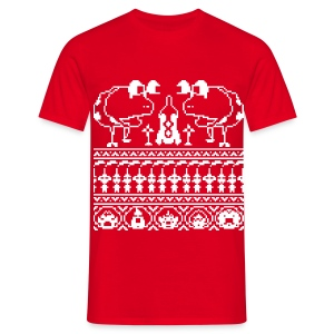Men's Ugly Pikmin Christmas T-Shirt - Men's T-Shirt