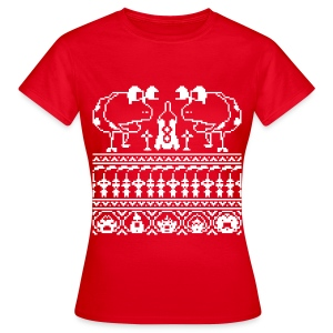 Women's Ugly Pikmin Christmas T-Shirt - Women's T-Shirt