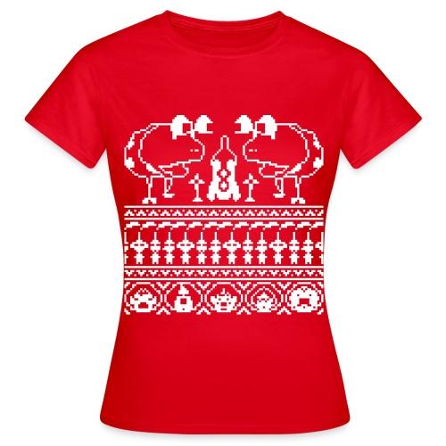 Women's Ugly Pikmin Christmas T-Shirt - Women's T-Shirt