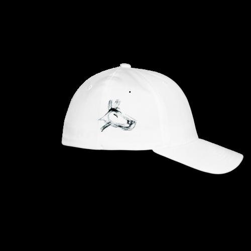 cap hund schwarz - Flexfit Baseballkappe