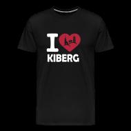 T-Shirts ~ Männer Premium T-Shirt ~ I love Kiberg Männer Shirt schwarz