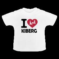 Baby T-Shirts ~ Baby T-Shirt ~ I love Kiberg Baby Shirt weiß